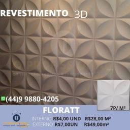 Placa gesso 3D, placas cimenticia 3D