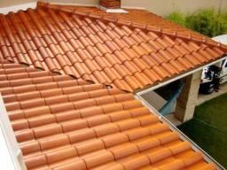 Trabalho com telhados e reformas em geral