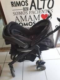 Carrinho com bebê conforto infanti,em perfeito estado (aceito cartão).