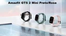 Amazfit GTS 2 Mini Preto/Rosa