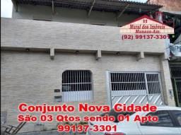 Nova Cidade Imóvel Reformado de 03 Qtos com Suíte sendo 01 Apartamento