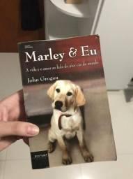 Livro Marley e Eu em bom estado