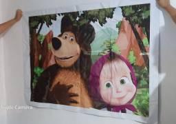 Painel marcha e o urso