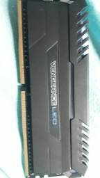 MEMORIA DDR4  VENEGANCE 3000MHZ LED AZUL