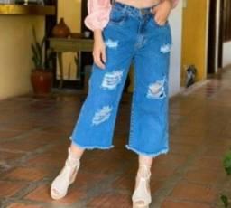 Pantacourt jeans nova