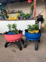 Vasos carriola de pneus