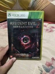 Jogo xbox 360 resident evil 2 revelation 2