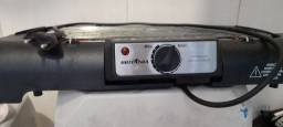 Churrasqueira elétrica com defeito, não esquenta muito