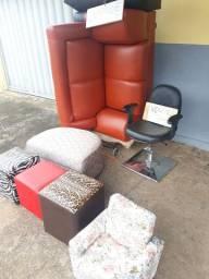 Reforma de sofá e cadeiras