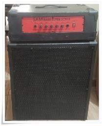 Sistema Amplificador Cabeçote para Contrabaixo Potente