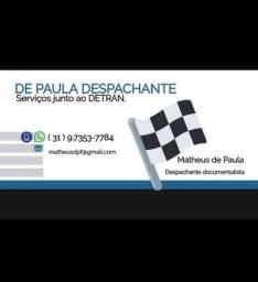 DESPACHANTE DE VEÍCULOS DETRAN-BH