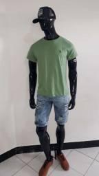 Conjuntos 1 camisa + 1 bermuda jeans por apenas $85,00