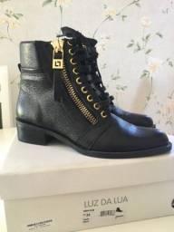 Luz da Lua e Zara, botas novas!!!