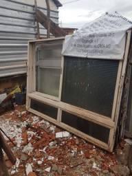 janelão de ferro e alumínio barato