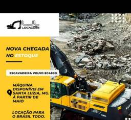ESCAVADEIRA  VOLVO EC480D