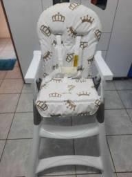 Cadeira de alimentação alta galzerano Premium Rei