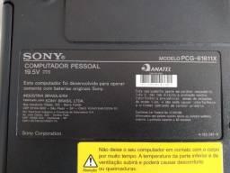 Notebook sony vaio PCG-61611X