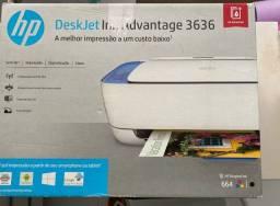 Deskjet HP 3636 com defeito leitor de cartucho de tinta