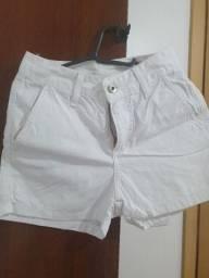 Short Branco veste 34