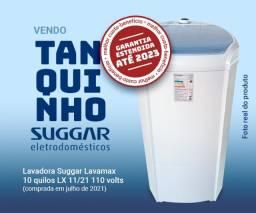 Tanquinho Lavadora Suggar Lavamax 10 quilos c/ nota e garantia estendida até julho de 2023