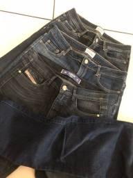 3 calças  jeans 60 reais