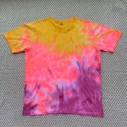 Camisa tie-dye