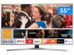 Smart TV 4K LED 55? Samsung UN55MU6400GXZD - Wi-Fi 3 HDMI 2 USB