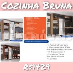 Armário de cozinha Bruna armário de cozinha Bruna -092950302