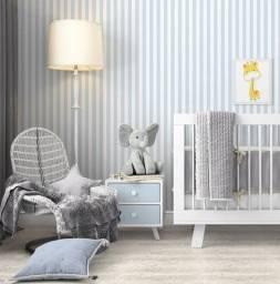 VD Barato - Papel de parede importado lavável , com textura.