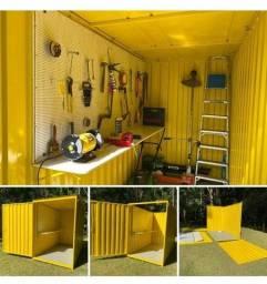 container desmontavel  novo 3m, guarita , deposito, banheiro, lachonete
