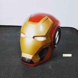 Subwoofer Iron Man - Caixa de Som Bluetooth