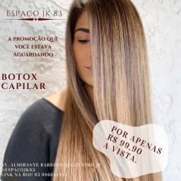 Botox capilar, tratamento intensivo