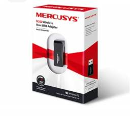 Mini Adaptador USB Wireless Mercusys N300