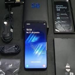 Samsung Galaxy S8 completo e 64gb