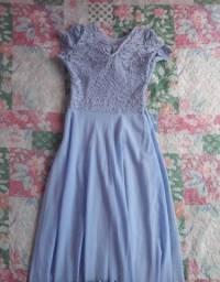 Vestido festa Azul Claro Serenity