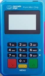 Maquineta de Cartão Point Mini Chip - Mercado Pago
