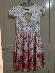 Vestido de seda, marca LORE, P.