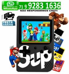 Videogame Portátil 8 bits Retrô 400 Jogos Nintendinho Gamebox