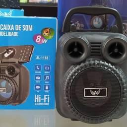 Caixa De Som Portátil Bluetooth Altomex Al-1183