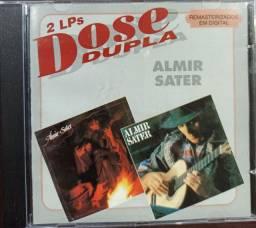 CD Almir Sater - Almir Sater (1981) / Almir Sater (1989) - Dose Dupla (Remasterizado)