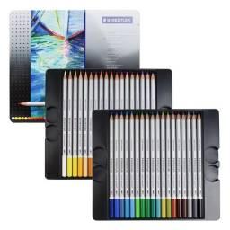 Lápis Aquarelável -  Karat Staedtler 35 cores
