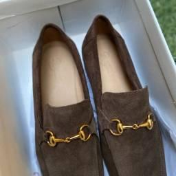 Título do anúncio: Sapato Masculino Loafer Palmer Café Brogan 41
