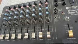 Mesa de som 8 canais( Wattsom MXM 8s)