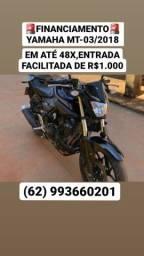 Financie Honda CG 150 fan c/entrada facilitada de R$1000