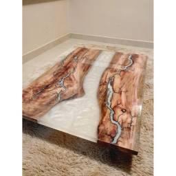 Faça Revestimento(Porcelanato Líquido,Mesas resinadas,tábuas de carne,Piso 3D, Marmorato)