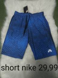 Short Nike refletivos