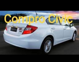 Compro Civic a vista