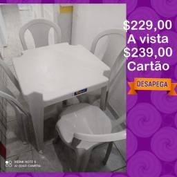 Conjunto de mesa solplast