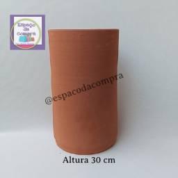 Vaso cilindro 30 cm de altura