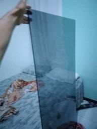 Essa linda tampa de vidro